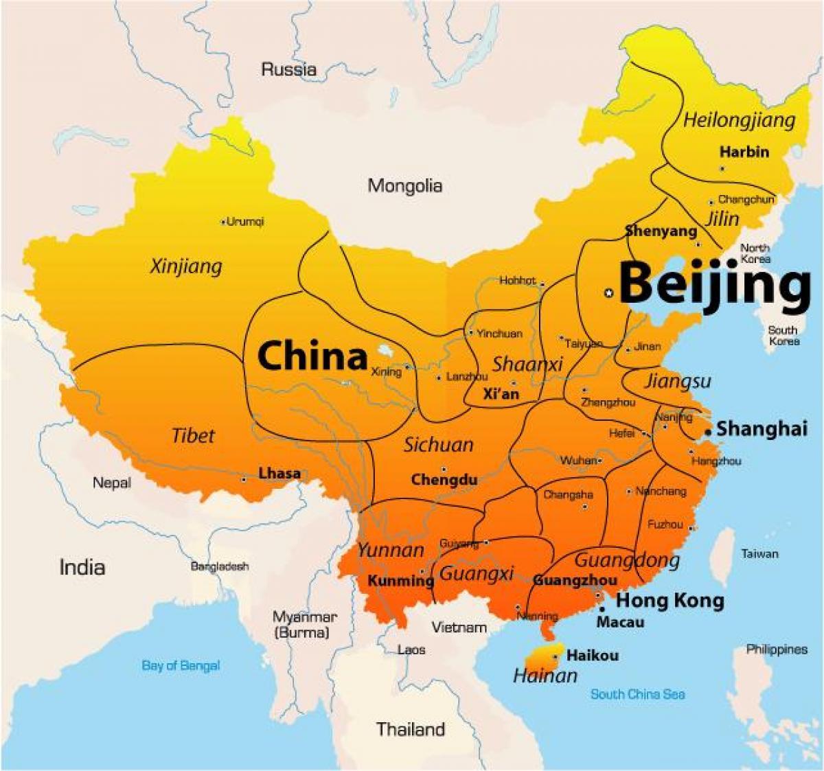 çin Xian harita ile ilgili görsel sonucu